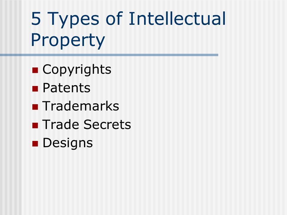 Intellectual Property Ppt Video Online Download