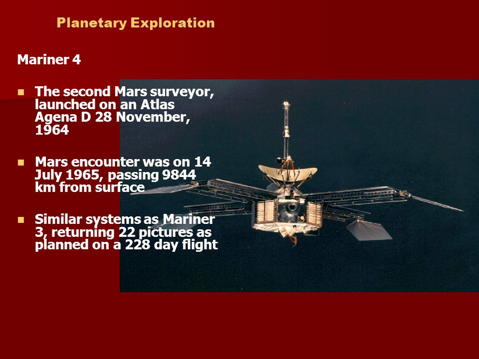 planetary exploration ppt video online download