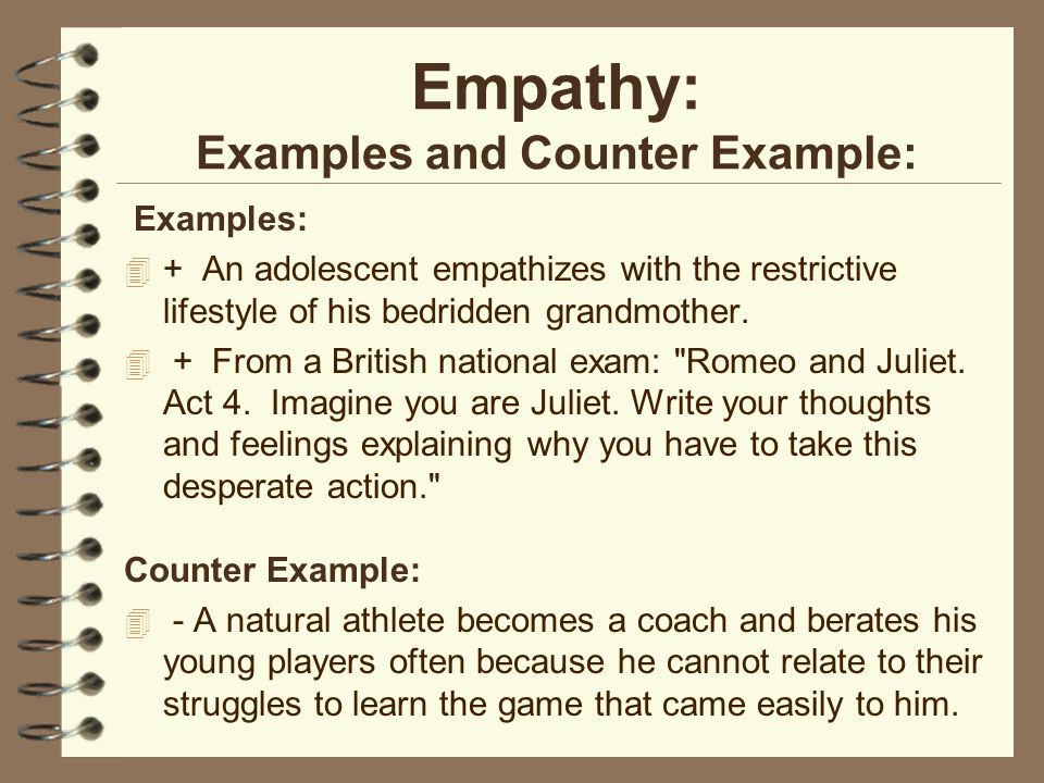 empathy essay conclusion So as brooks admits in the second sentence, some studies have reached the conclusion that empathy matters and even though empathy is easily crushed,.