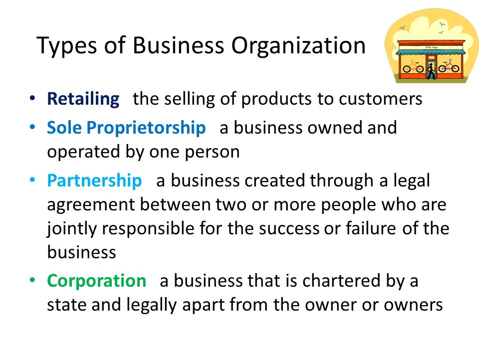 types of business organisation and ownership Certificate/diploma in business  which are examples of different types of business ownership for example,  organisation other organisations.
