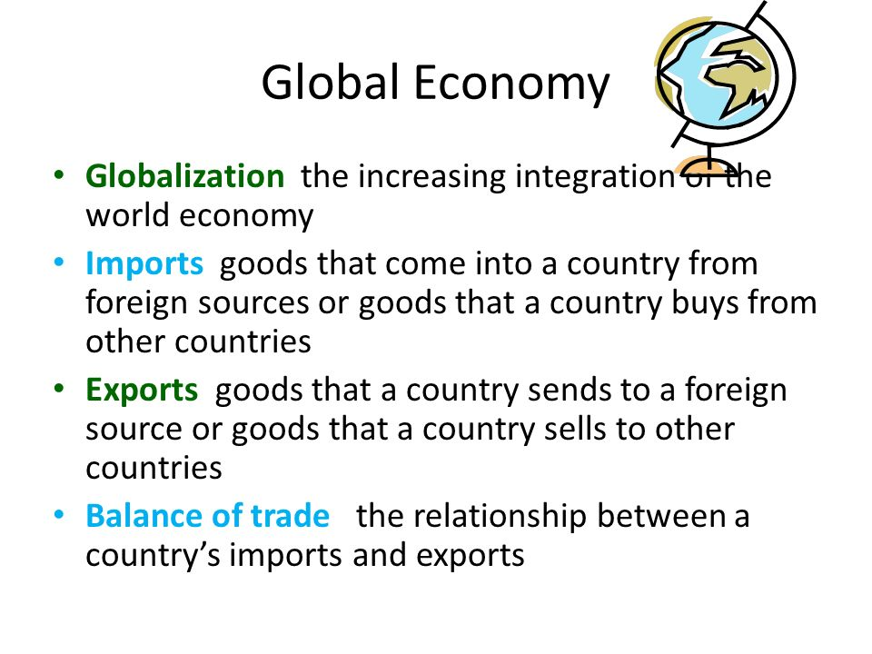 relationship between globalization and economy Culture and the economy: understanding the dynamics of  understanding the dynamics of globalization  been exploring the relationship between.