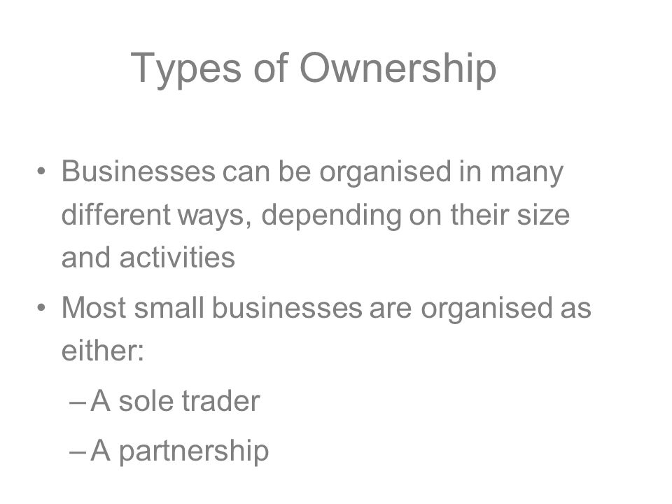 what are sole traders and partnerships However, there are major disadvantages, as a sole trader is legally  general  partners manage the business, while limited partners do not play.
