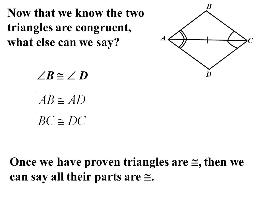 46 Using Congruent Triangles Ppt Download