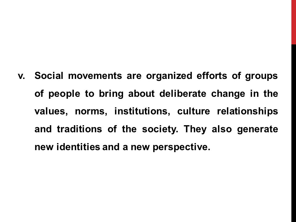 modern society and causes of social change The changing family: how changes in the family relfects social and economic changes in society by clarence roberts jr.