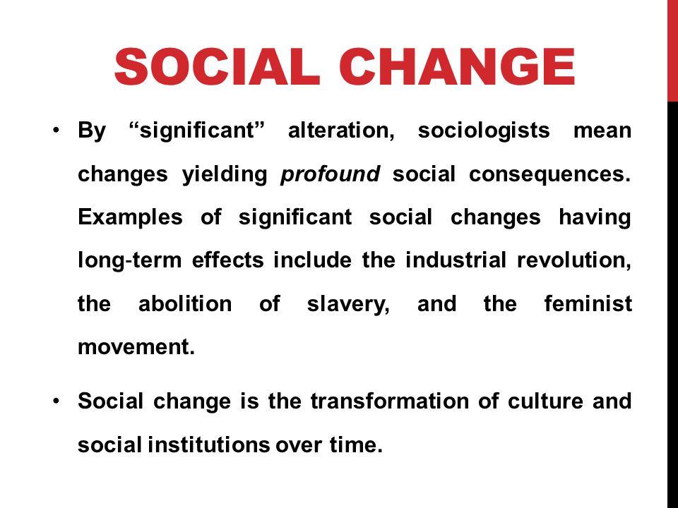 Social Cultural Change Ppt Video Online Download