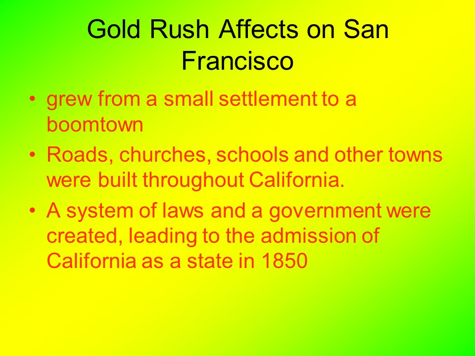 gold discovered in california sparked a massive migration of settlers The oregon trail: a migratory route of manifest destiny michael ahn when thomas jefferson instructed merriweather lewis and william clark.