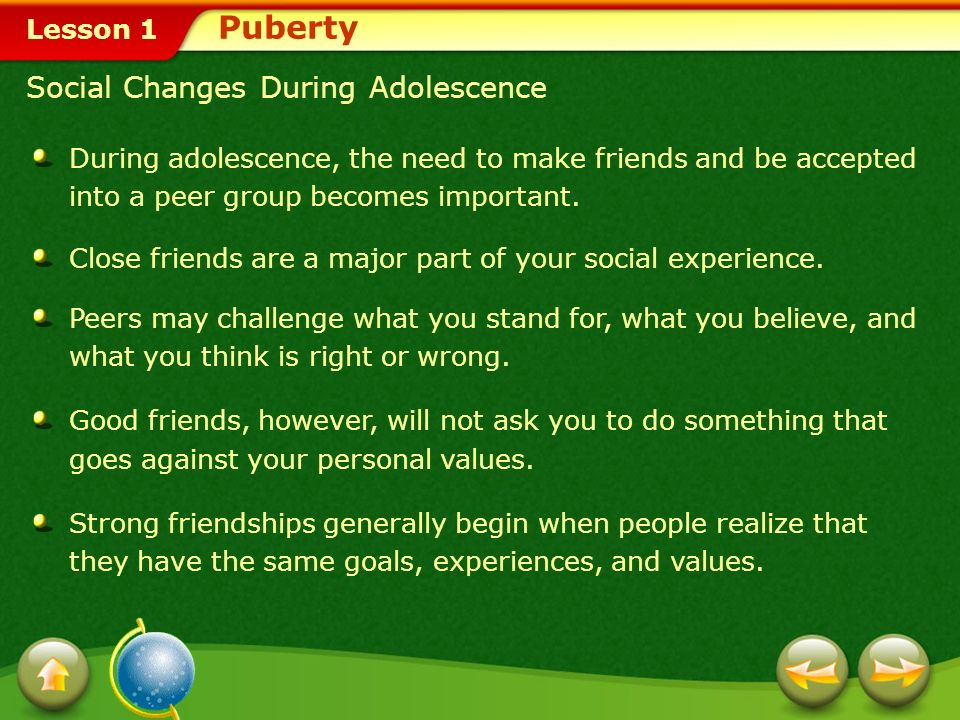 Adolescence Understanding Growth And Change Ppt Video