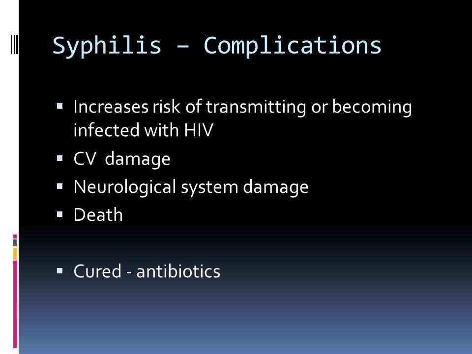 Syphilis – Complications