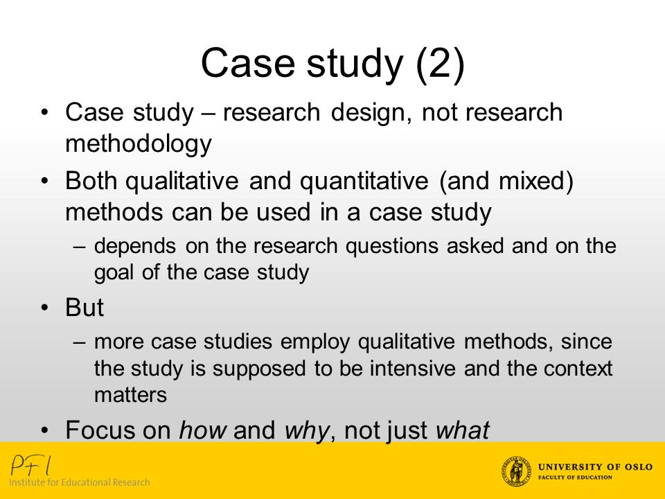 comparative case study method Political research quarterly doi: 101177/1065912907313077 political research quarterly 2008 research than in large-n cross-case analysis indeed, the method of choosing cases and analyzing those result shows that for a comparative case study com-posed of five cases (or less).