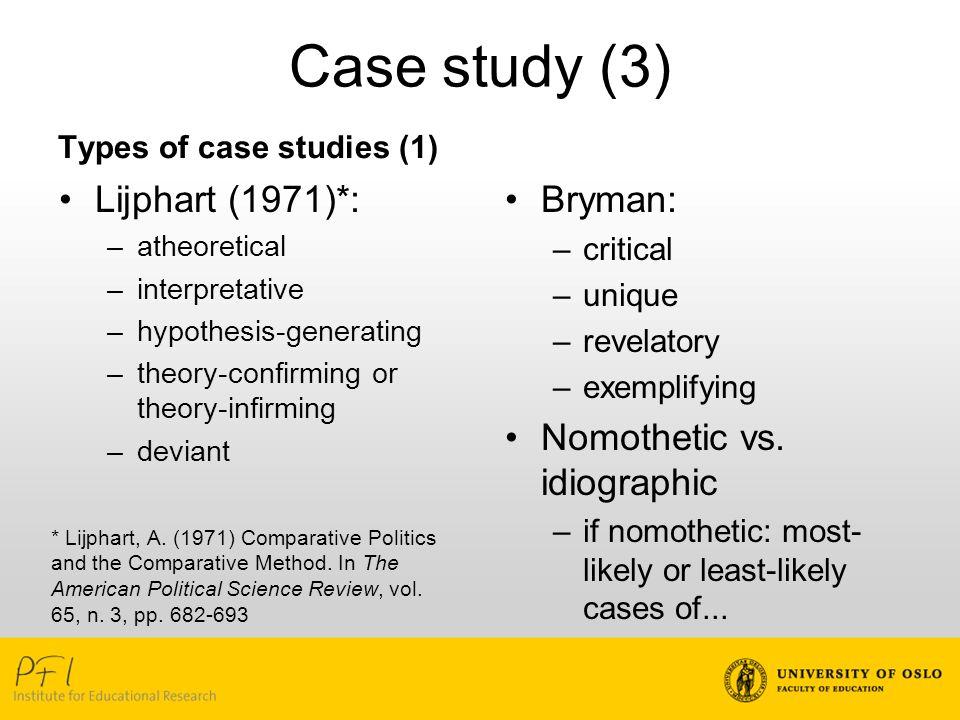 political case studies