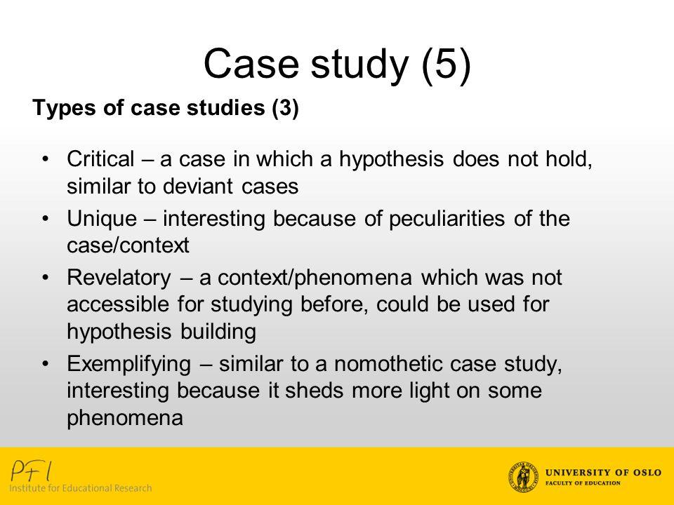 study case definition