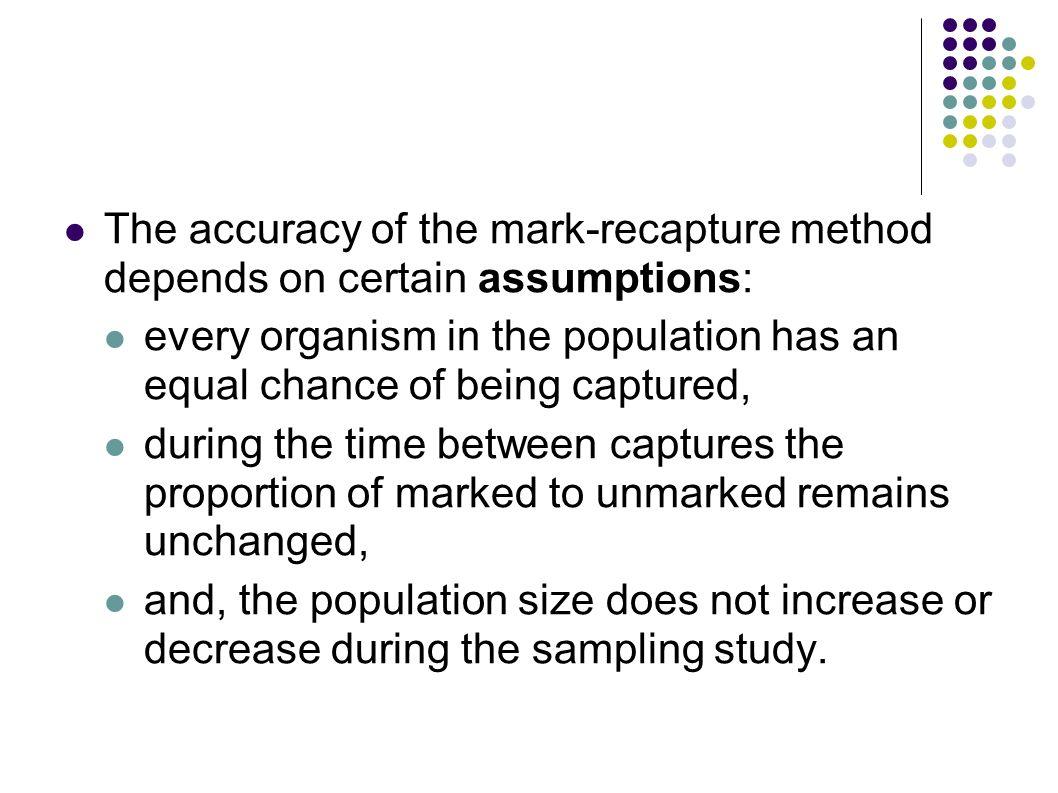 Mark-recapture studies and demography | Adolfo Cordero ...