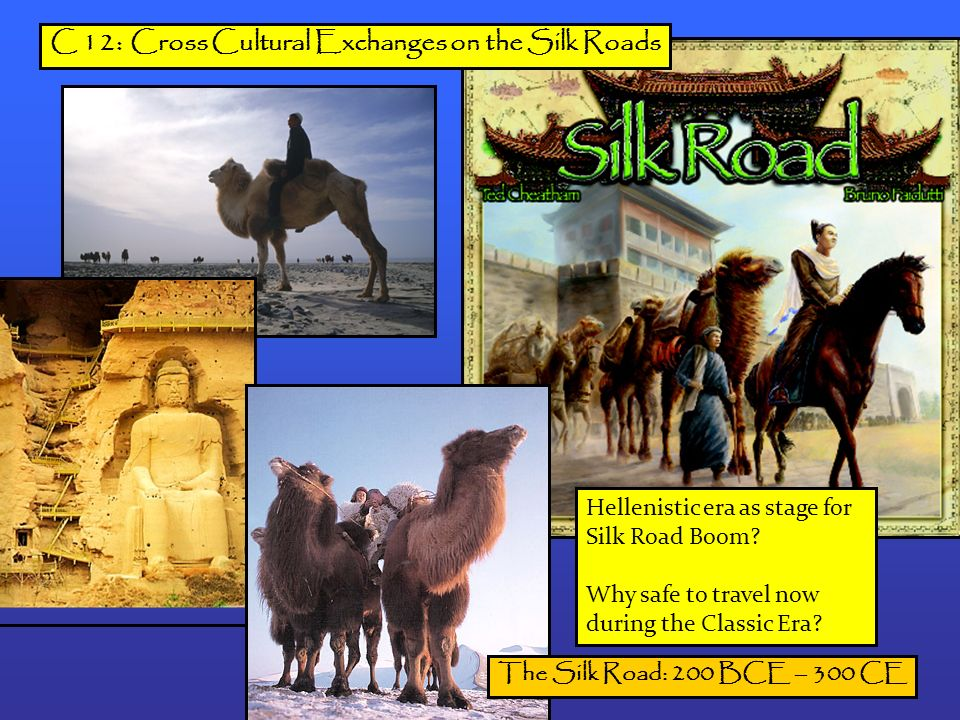 ccot silk roads essay Ccot during 200 bce to 1450 bce the interaction along the silk roads continued in the amount of people that were trading along it and how the silk road.