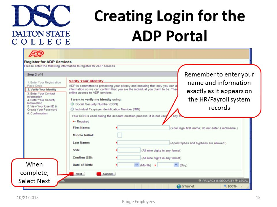 Login for ADP Workforce Now for administrators and employees.