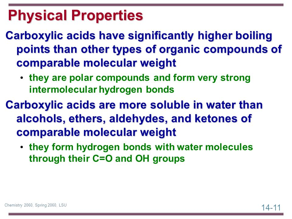physical properties of organic compound Physical constants of organic compounds physical constants of organic compounds  the 99th edition of the handbook of chemistry and physics print  properties of .