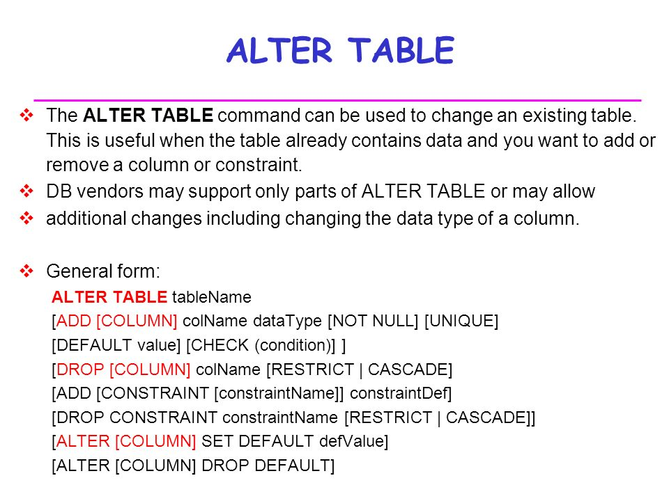 Enchanting Alter Table Set Default Value Ideas - Best Image Engine ... Enchanting Alter Table Set Default Value Ideas Best Image Engine  sc 1 st  Best Image Engine & Scintillating Alter Table Set Contemporary - Best Image Engine ...