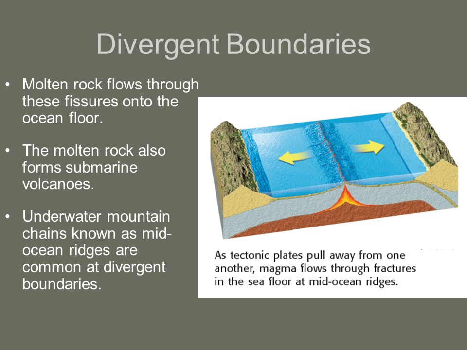 Chapter 8 Volcanoes Section 1 Why Volcanoes Form Ppt