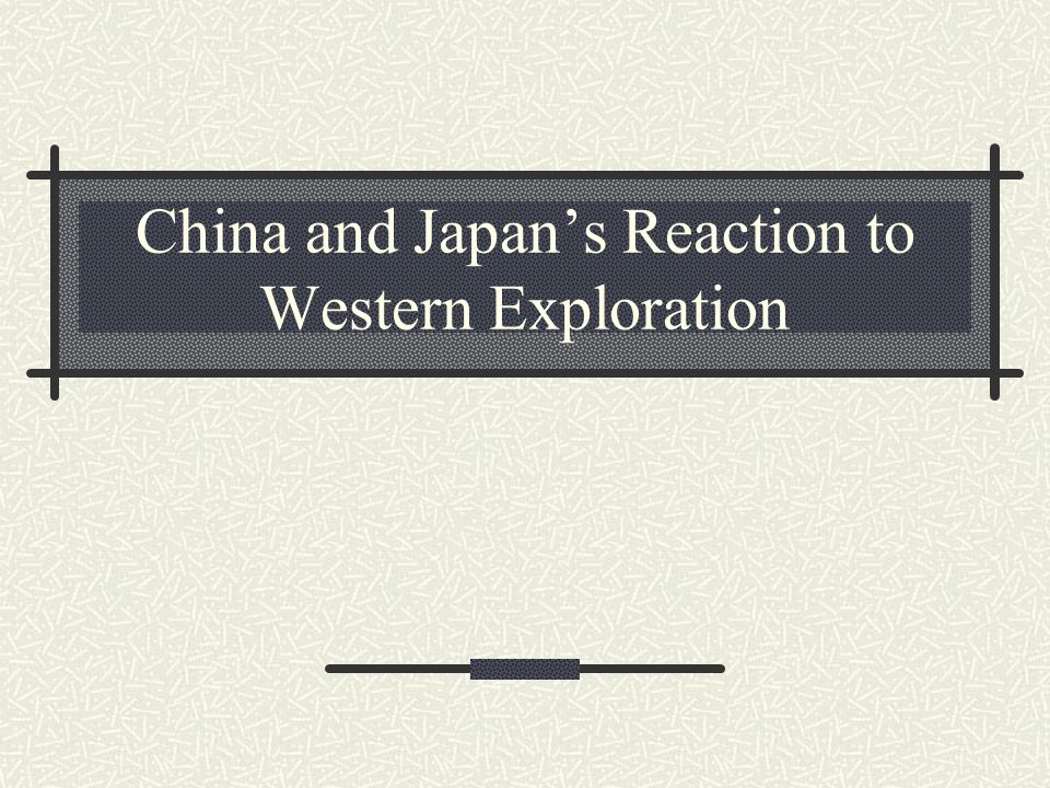 china and japan's responses to western China was under the pressure of japan already so it wasnt able to show reaction at all but japan was really agressive japan tried to be powerful as western countries.