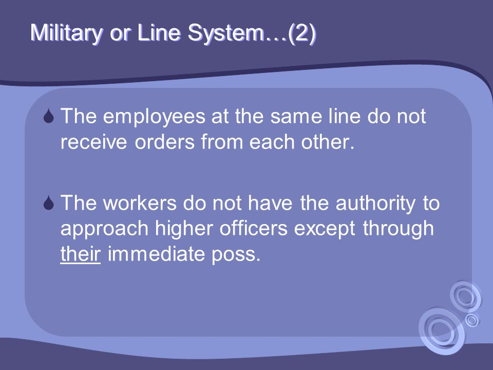 Military or Line System…(2)