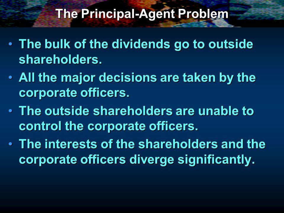 The Principal-Agent Problem