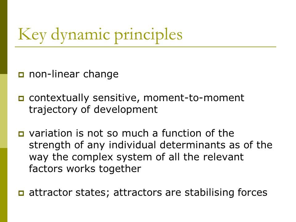Key dynamic principles