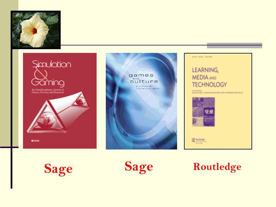 Sage Sage Routledge
