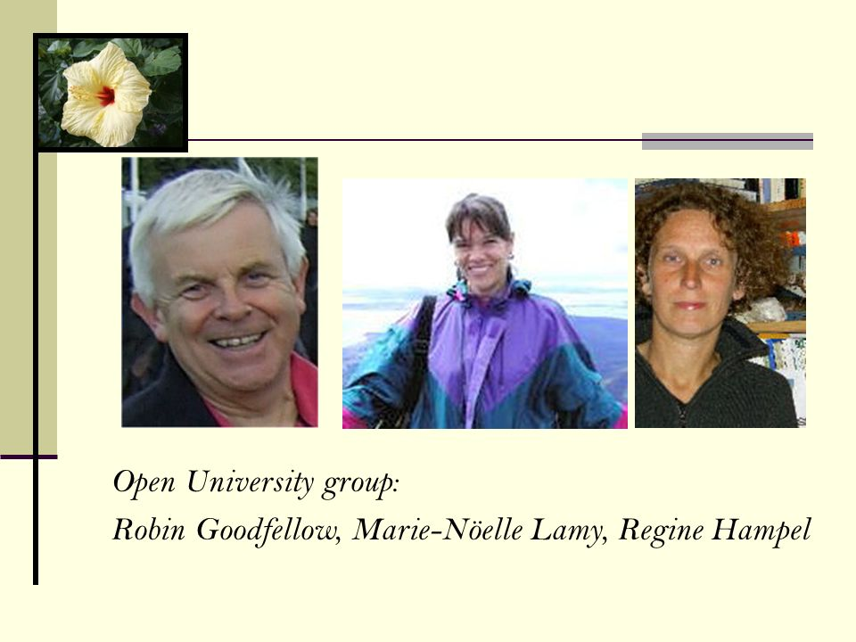 Open University group: