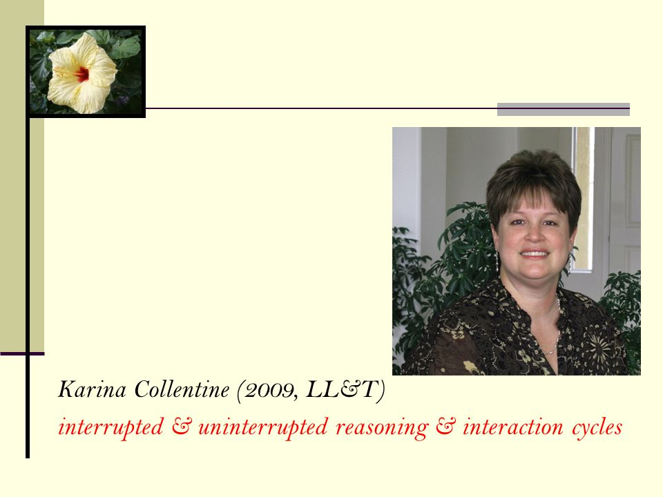 Karina Collentine (2009, LL&T)