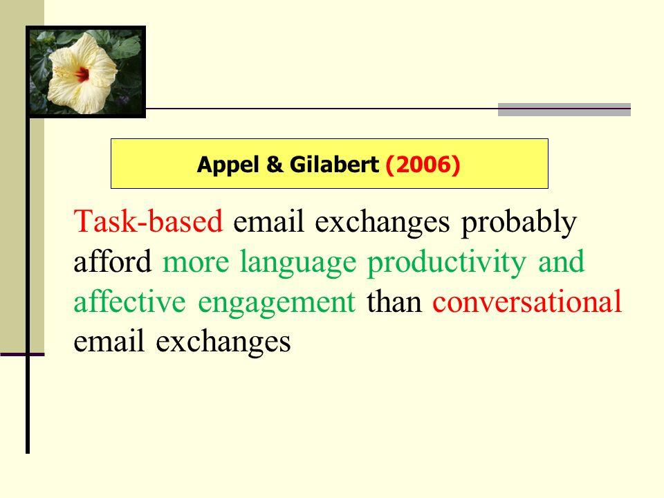 Appel & Gilabert (2006)
