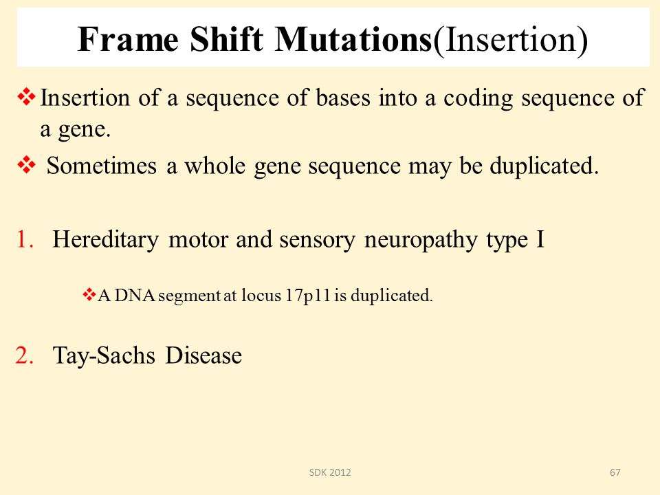Genetic Mutations Sdk October 8 Ppt Download
