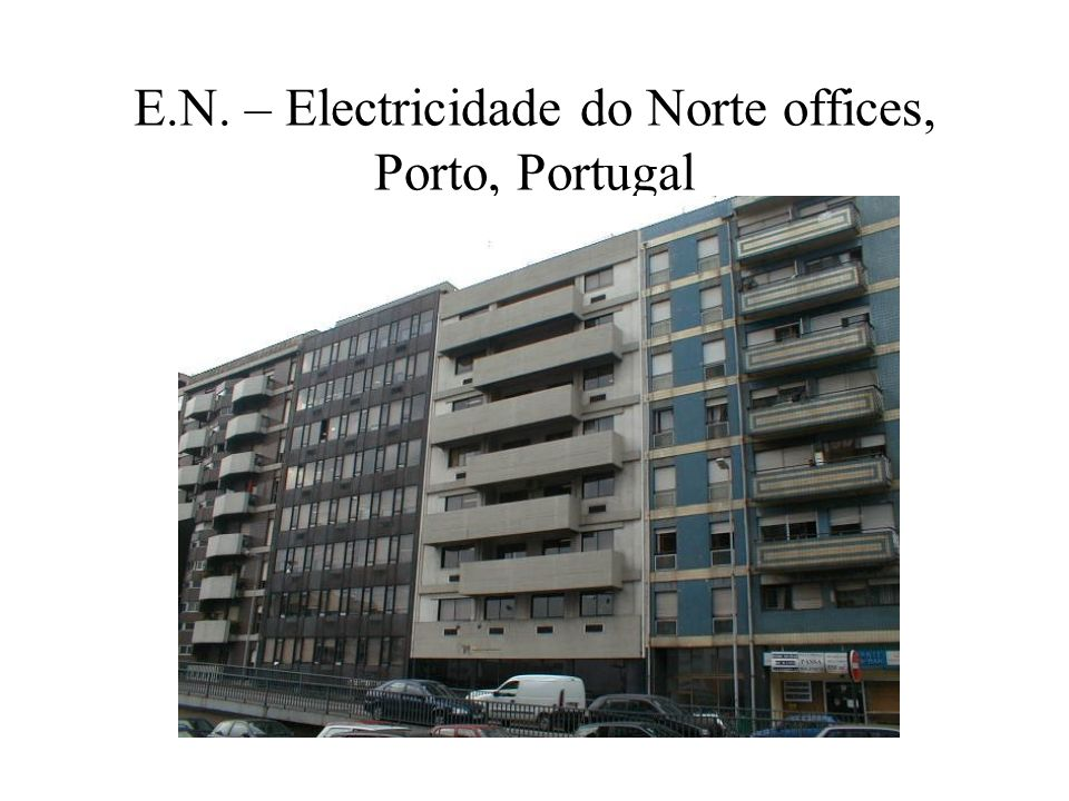 E.N. – Electricidade do Norte offices, Porto, Portugal