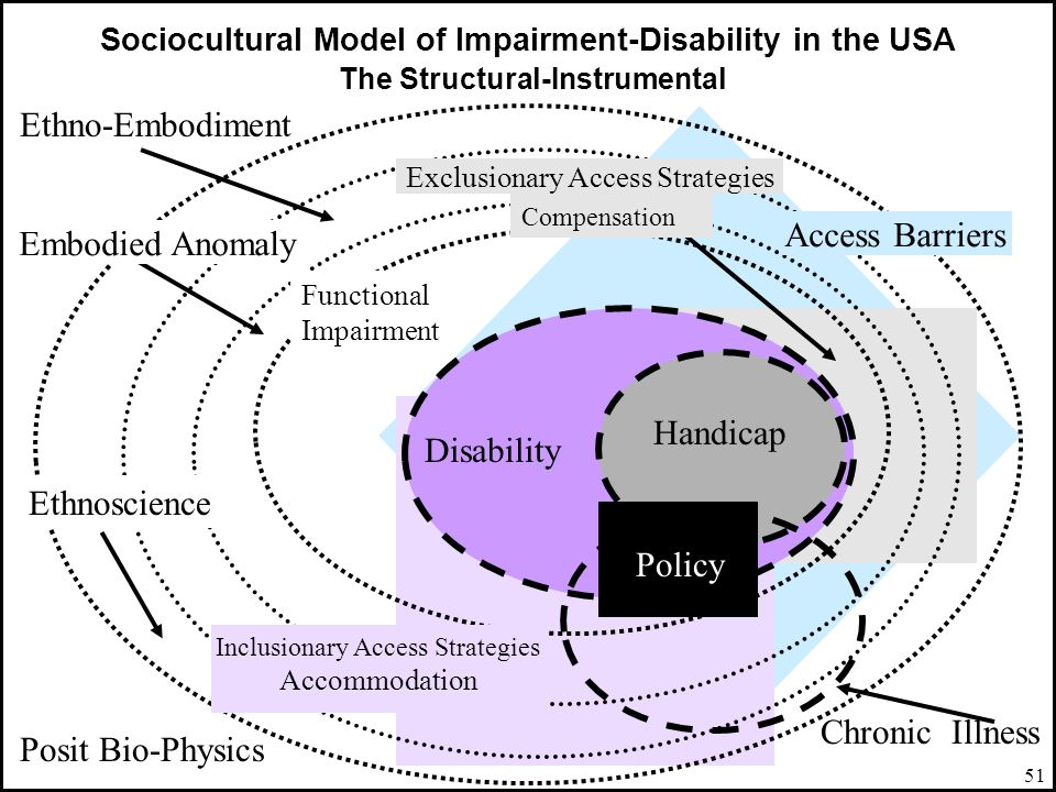 Ethno-Embodiment Access Barriers Embodied Anomaly Handicap Disability