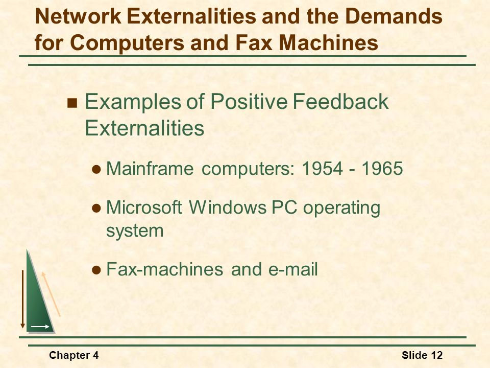 Network Externalities and the Demands for Computers and Fax Machines