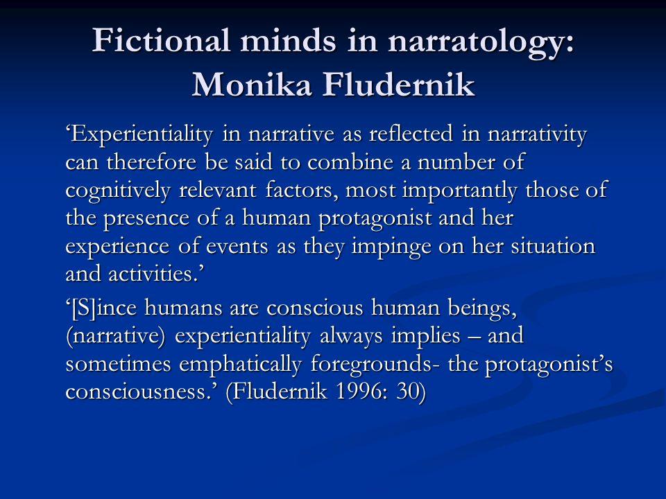 Fictional minds in narratology: Monika Fludernik