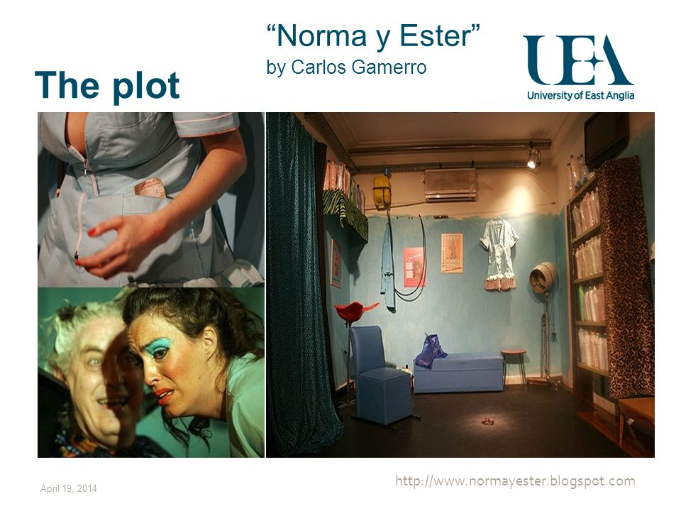The plot Norma y Ester http://www.normayester.blogspot.com