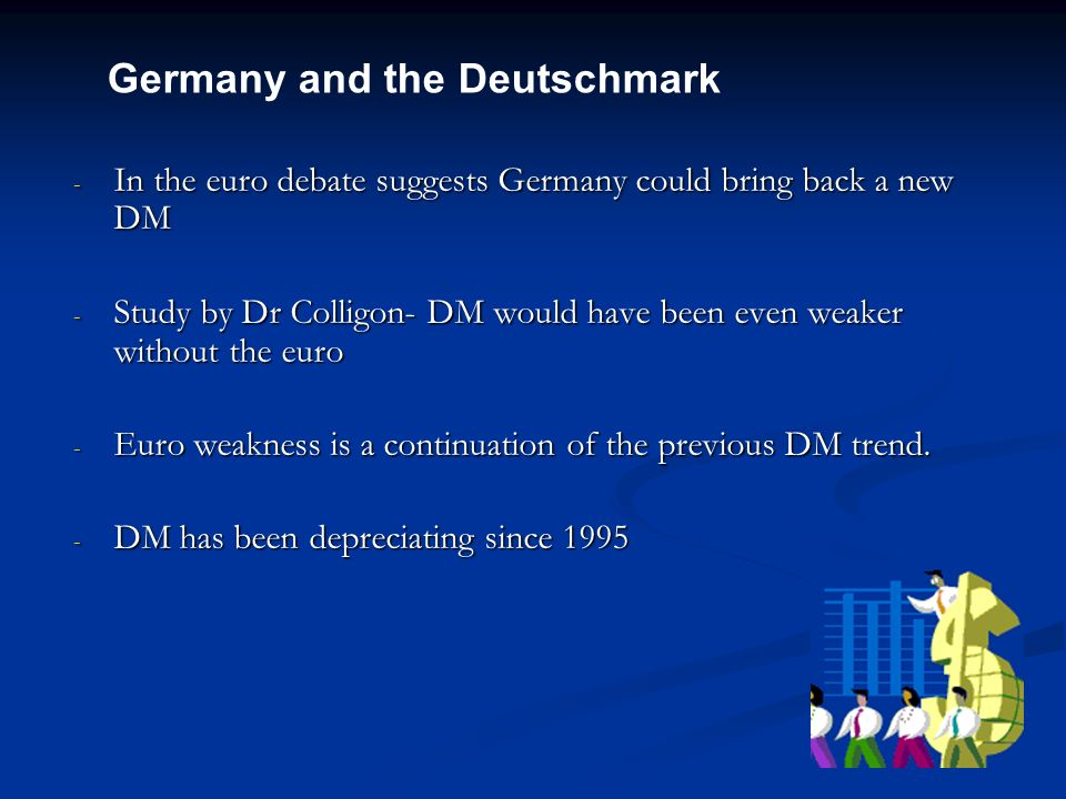 Germany and the Deutschmark