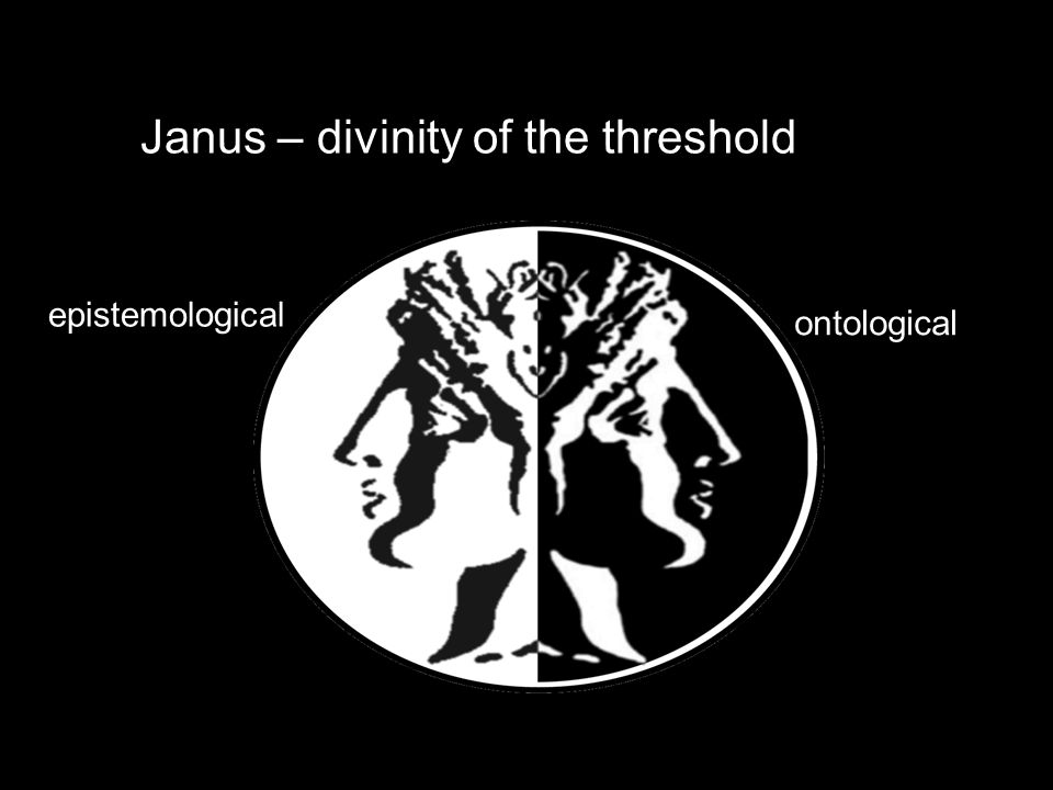 Janus – divinity of the threshold