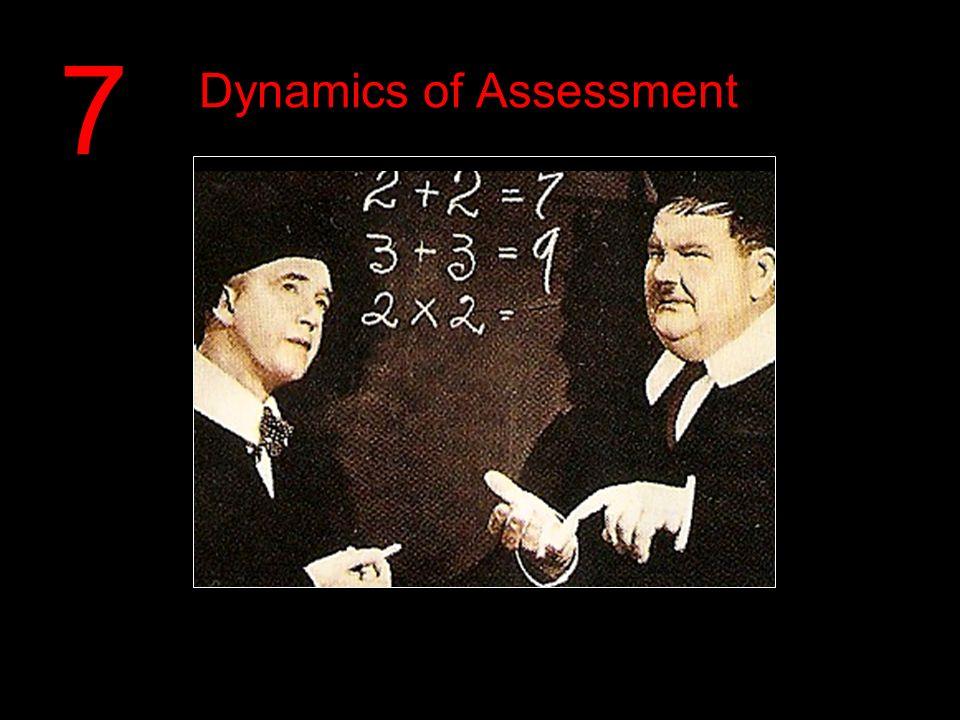 Dynamics of Assessment