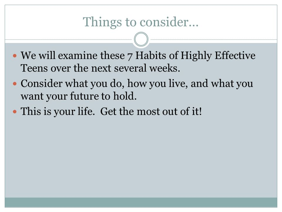 7 Habits of Highly Effective Teens ppt download – 7 Habits of Highly Effective Teens Worksheets