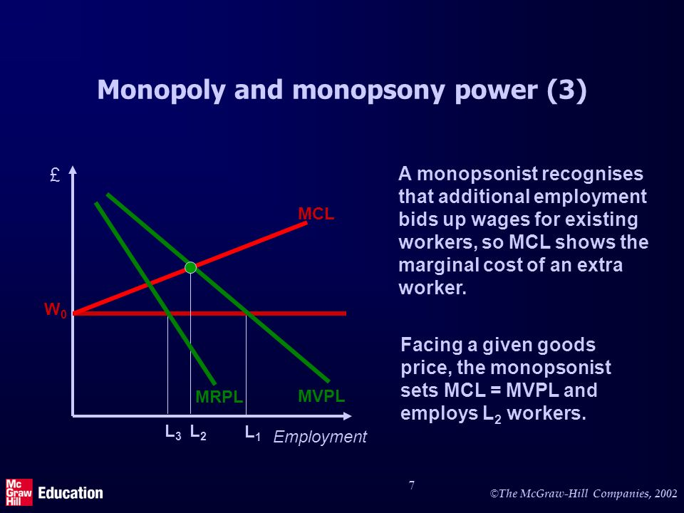 Monopoly and monopsony power (4)