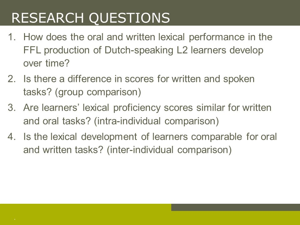 YU (2009) Lexical Diversity in Writing and Speaking Task Performances