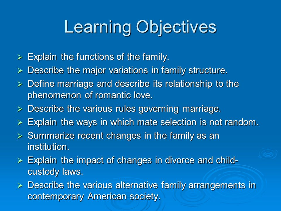 changes to the structure of the family Families are changing  of the changes in family fo rmation,  while the following section illustrates changes in household structure and changes in.