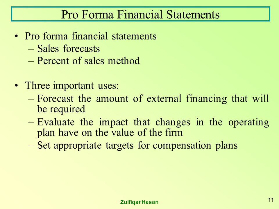 analyzing pro forma statements 2 essay Read this essay on analyzing pro forma statements come browse our large digital warehouse of free sample essays get the knowledge you need in order to pass your classes and more only at termpaperwarehousecom.