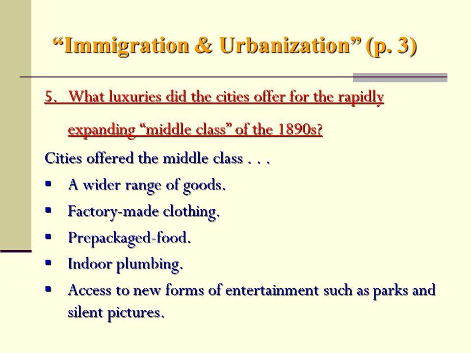 Immigration & Urbanization (1870—1914) - ppt video online download