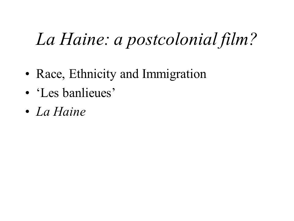 La Haine: a postcolonial film