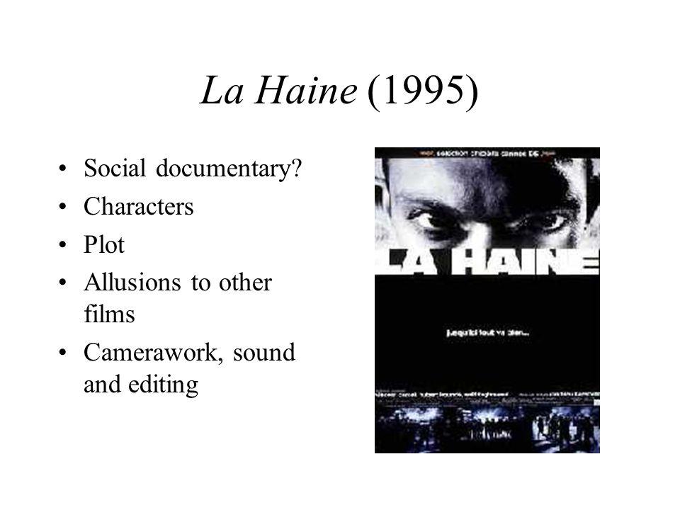 La Haine (1995) Social documentary Characters Plot