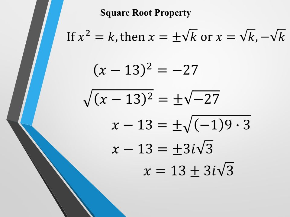 Quadratic Formula Ppt Video Online Download