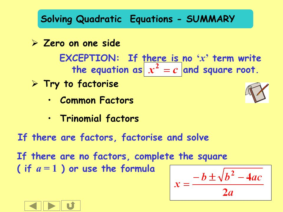 how can i write a summary equation