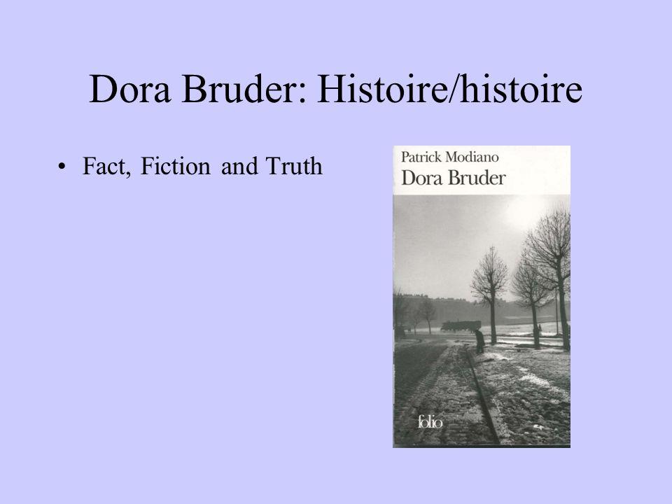 Dora Bruder: Histoire/histoire