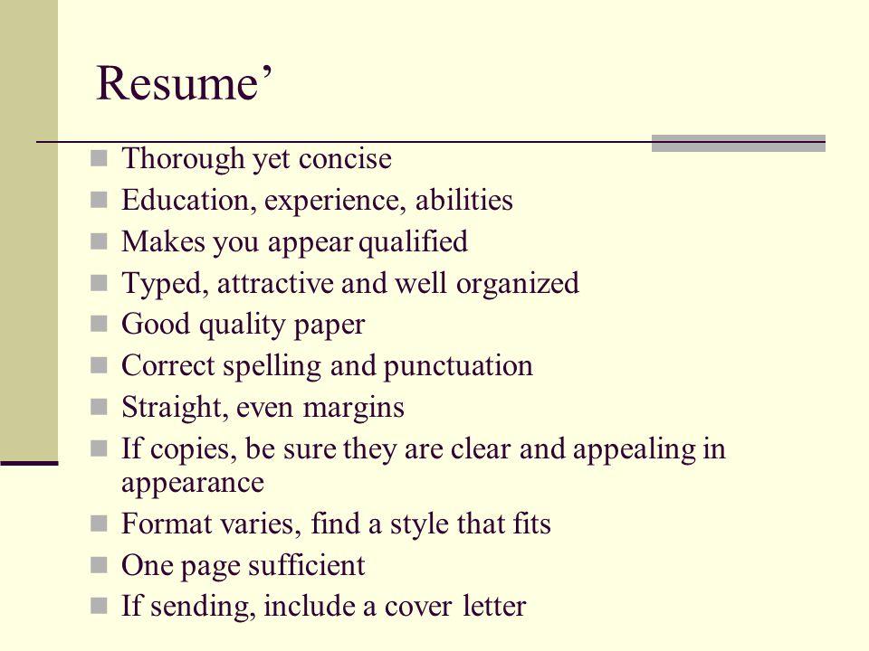unit c employability skills